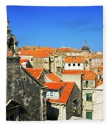 Croatia, Dubrovnik Fleece Blanket