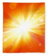 Explosive Background  Fleece Blanket