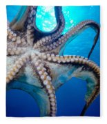Hawaii, Day Octopus Fleece Blanket