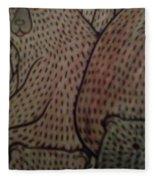 Print And Pixel Fleece Blanket