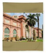 Horse 2 - The Egyptian Museum Of Antiquities - Cairo Egypt Fleece Blanket