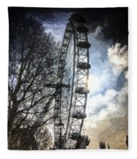 The London Eye Art Fleece Blanket