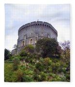 Windsor Castle Fleece Blanket