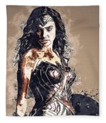 Wonder Woman Fleece Blanket