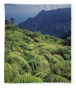 100139 Amaumau Ferns Hawaii Fleece Blanket