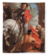10298 Anthony Van Dyck Fleece Blanket