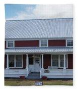 108 Mile Road House Fleece Blanket