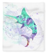 10961 Swordfish Fleece Blanket