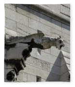 Basilica Du Sacre-coeur De Montmartre Fleece Blanket