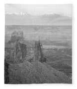 Canyonlands National Park Utah Fleece Blanket