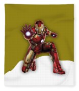 Iron Man Collection Fleece Blanket