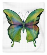 11 Prism Butterfly Fleece Blanket