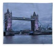 Tower Bridge - London Fleece Blanket