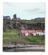 Whitby - England Fleece Blanket