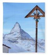Zermatt - Switzerland Fleece Blanket