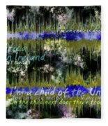 11362 Child Of The Universe With Lyrics By Barclay James Harvest Fleece Blanket