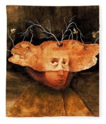 11596 Remedios Varo Fleece Blanket