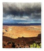1174 Brewing Desert Storm Fleece Blanket