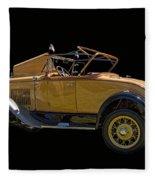 1930 Model A Ford Convertible Fleece Blanket