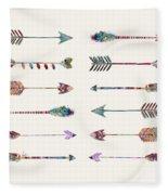 12 Arrows Fleece Blanket