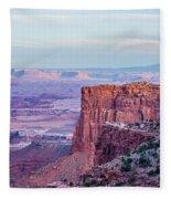 Canyonlands National Park Utah Fleece Blanket