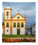 Paraty, Brazil Fleece Blanket