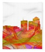 Tucson Arizona Skyline Fleece Blanket