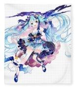 Vocaloid Fleece Blanket