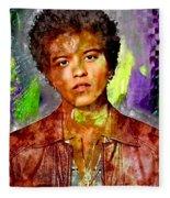 Bruno Mars Fleece Blanket
