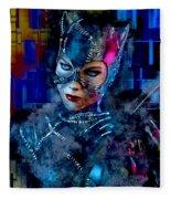 Catwoman Fleece Blanket