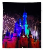 Cinderella Castle Fleece Blanket