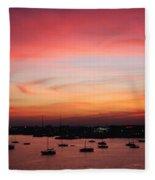 13- Crimson Dream Fleece Blanket
