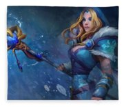 Dota 2 Fleece Blanket