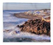 El Golfo - Lanzarote Fleece Blanket