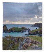 Kynance Cove - England Fleece Blanket