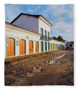 Paraty, Brazil Fleece Blanket