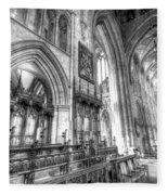 Southwark Cathedral London Fleece Blanket