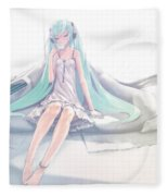 Vocaloid Fleece Blanket