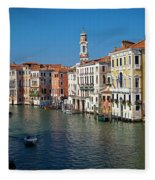 1399 Venice Grand Canal Fleece Blanket