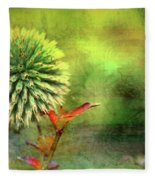 American Beach Cottage Art And Feelings Fleece Blanket