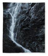 Cedar Creek Falls In Mount Tamborine Fleece Blanket