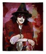 Deep Purple. Ritchie Blackmore. Fleece Blanket