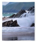 Dingle Peninsula - Ireland Fleece Blanket