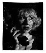 Film Noir Fleece Blanket