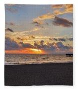 14- Juno Beach Pier Fleece Blanket