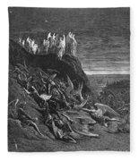 Milton: Paradise Lost Fleece Blanket