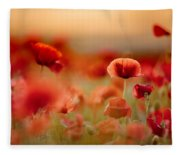 Poppy Dream Fleece Blanket