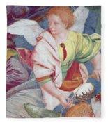The Concert Of Angels Fleece Blanket