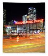 1405 Milwaukee Public Market Fleece Blanket