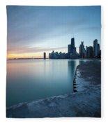 1415 Chicago Fleece Blanket